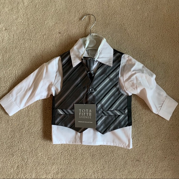 Tots Fifth Avenue Other - Tots Fifth Avenue Toddler 4 Piece Suit NWT